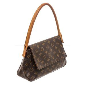 Louis Vuitton Monogram Canvas Leather Bag